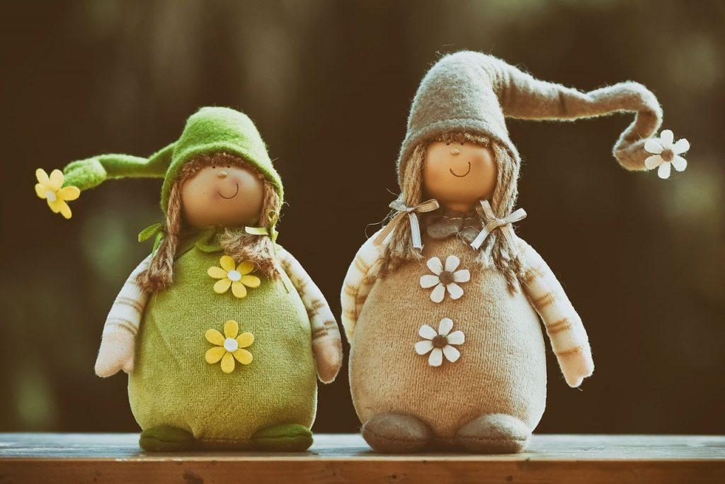 imp, spring imp, cute